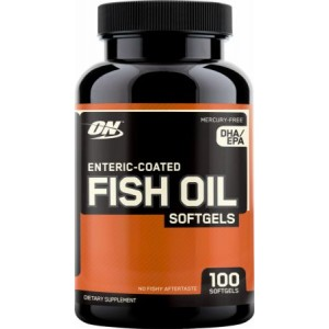 Optimum nutrition Fish Oil - Žuvų taukai