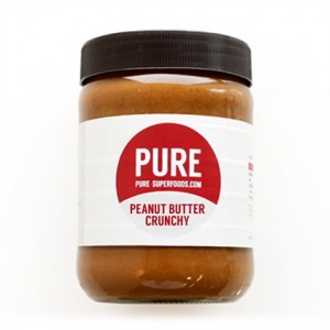 Pure Natural Crunchy Peanut Butter